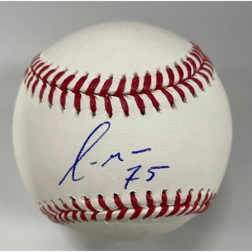 Photo of Yermin Mercedes Autographed Baseball