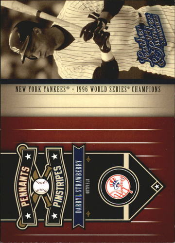 Photo of 2004 Leather and Lumber Pennants/Pinstripes #5 Darryl Strawberry