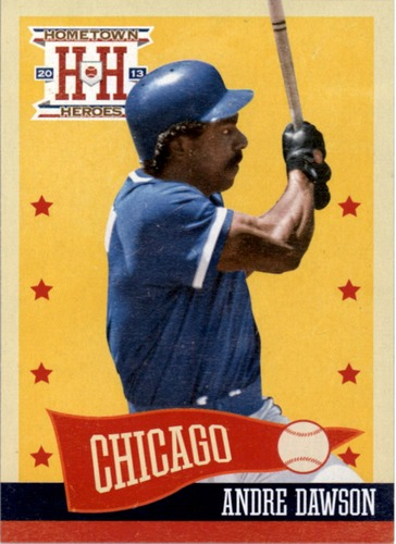 Photo of 2013 Hometown Heroes #26 Andre Dawson