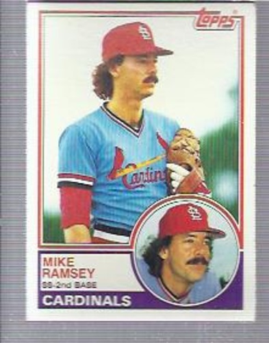 Photo of 1983 Topps #128 Mike Ramsey
