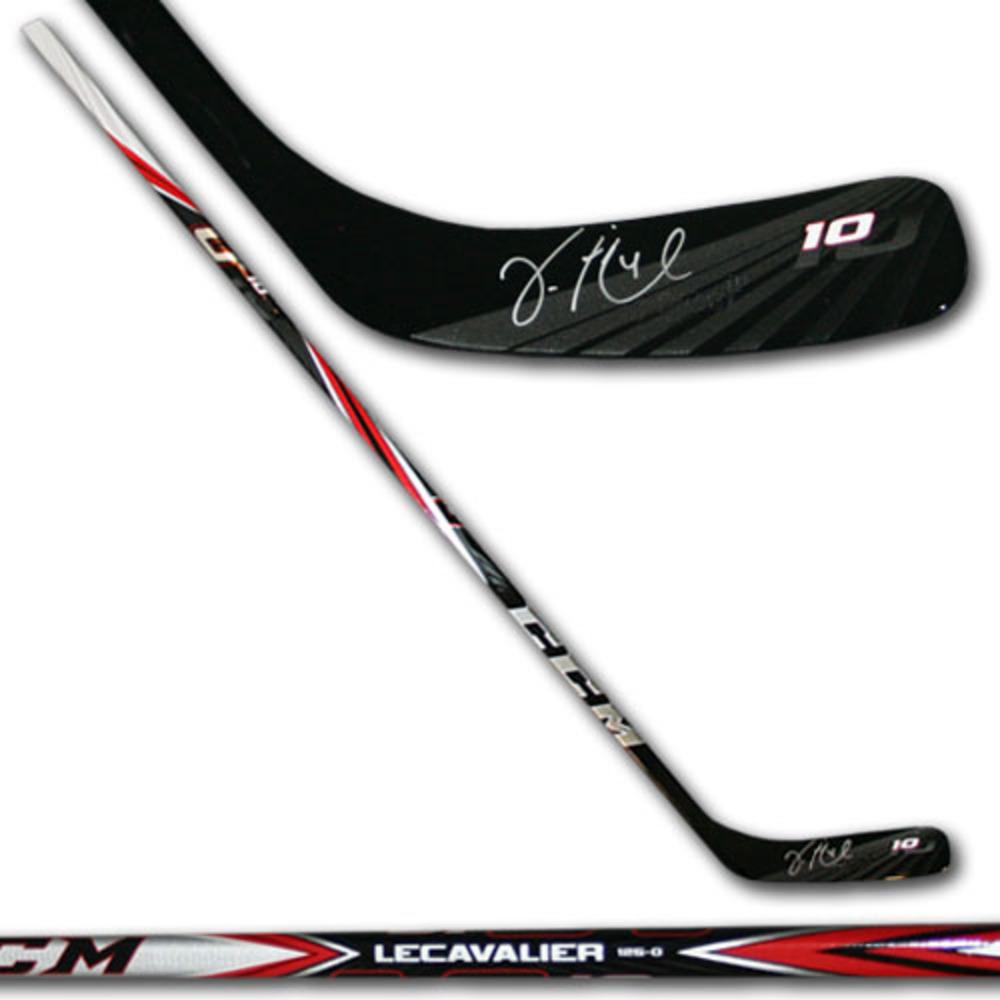 Vincent Lecavalier Autographed LECAVALIER Model CCM Hockey Stick (Los Angeles Kings)