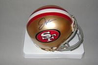 NFL - 49ERS JOE WILLIAMS SIGNED 49ERS MINI HELMET