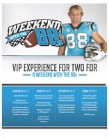 Greg Olsen - Weekend With the 88s -VIP Experience for two