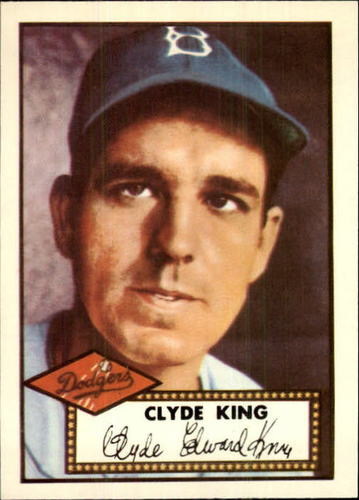Photo of 1983 Topps 1952 Reprint #205 Clyde King