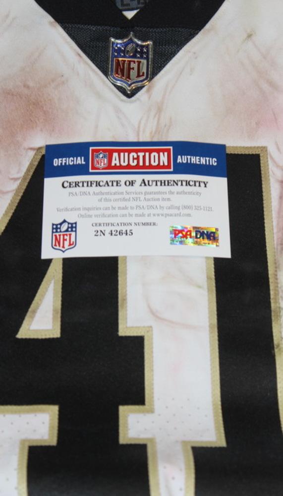 first rate 2881b 502ec NFL Auction | SPORT RELIEF - SAINTS ALVIN KAMARA GAME WORN ...