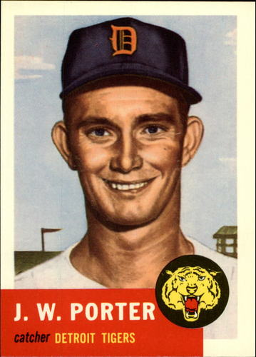 Photo of 1991 Topps Archives 1953 #211 J.W. Porter