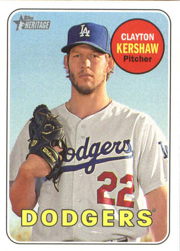 Photo of 2018 Topps Heritage #216 Clayton Kershaw