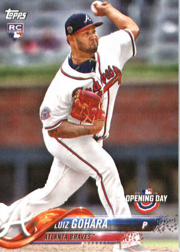 Photo of 2018 Topps Opening Day #138 Luiz Gohara