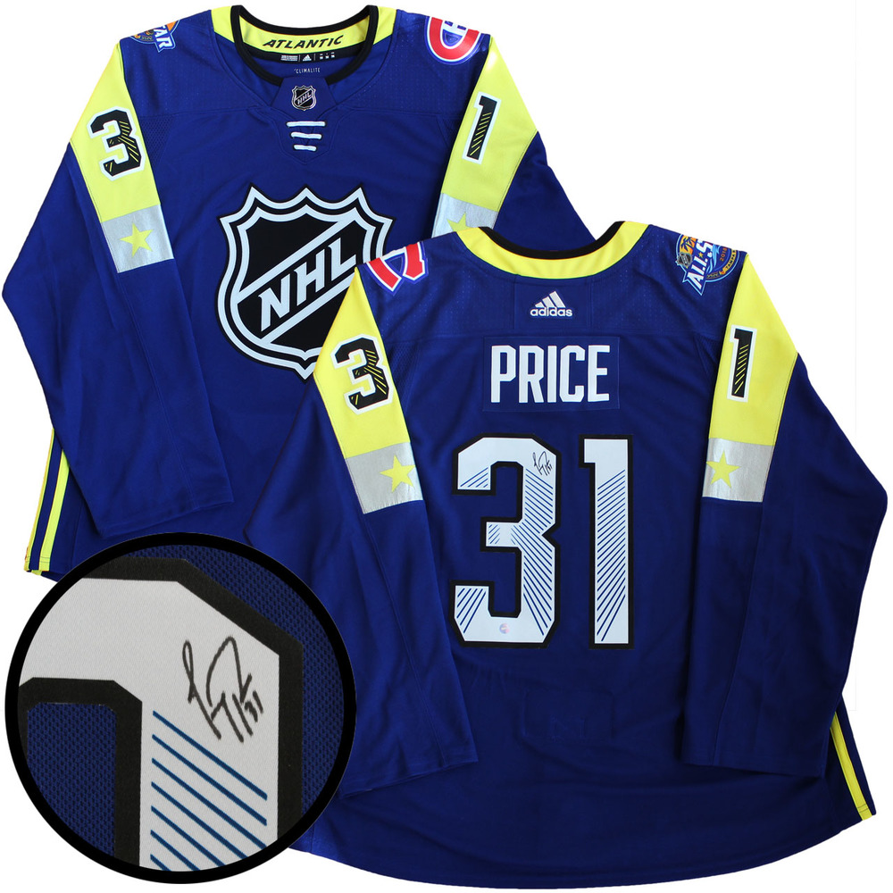 Carey Price - Signed Jersey All-Star 2018 Atlantic Division Pro Blue Adidas
