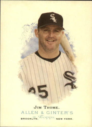 Photo of 2006 Topps Allen and Ginter #14 Jim Thome -- Newest Hall of Famer Class of 2018