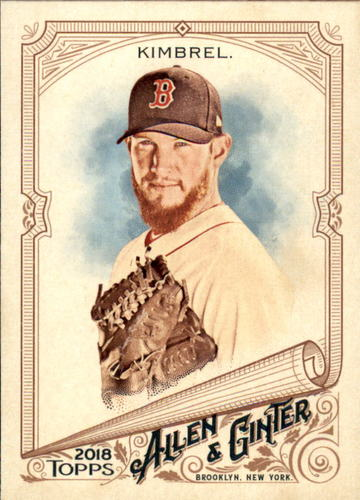 Photo of 2018 Topps Allen and Ginter #14 Craig Kimbrel