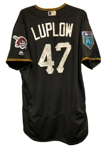 Photo of Jordan Luplow Game-Used Spring Training Jersey