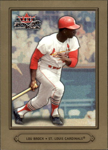 Photo of 2002 Fleer Fall Classics #20 Lou Brock