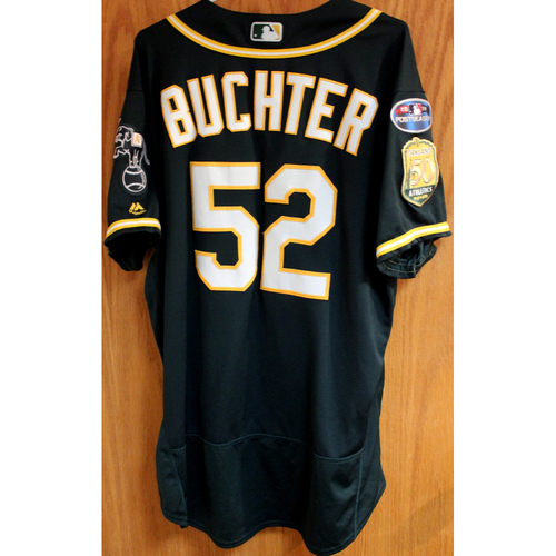 Photo of Game-Used Jersey: Ryan Buchter AL Wild Card Game 10/3/18