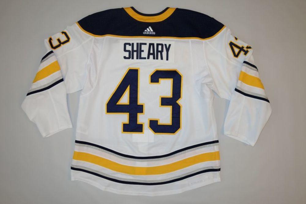 Connor Sheary 2018-19 Buffalo Sabres Set 1 Away Jersey
