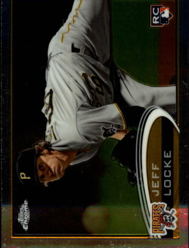 Photo of 2012 Topps Chrome #176 Jeff Locke RC