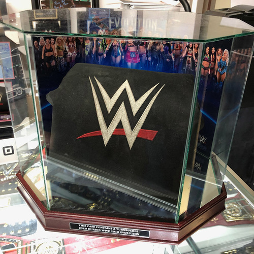 Evolution 2018 Event Used Turnbuckle with Display Case