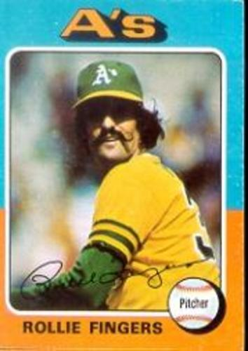Photo of 1975 Topps #21 Rollie Fingers