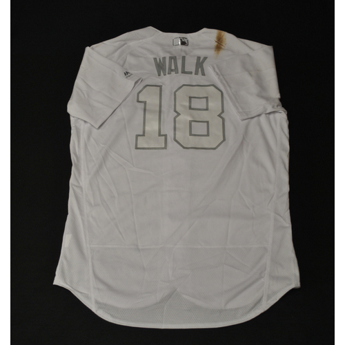 "Photo of Neil ""WALK"" Walker Miami Marlins Game-Used 2019 Players' Weekend Jersey"
