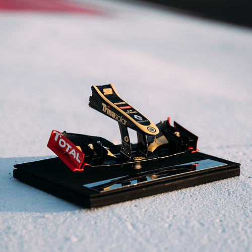 Photo of Kimi Raikkonen E20 1.12 Scale Nosecone Lotus F1 Team - Amalgam Collection