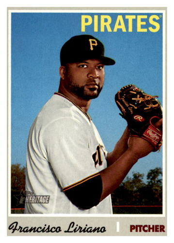 Photo of 2019 Topps Heritage #632 Francisco Liriano