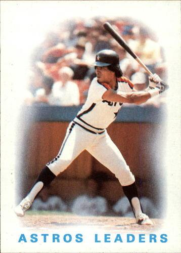 Photo of 1986 Topps #186 Astros Leaders/Jose Cruz