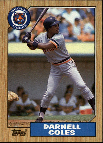 Photo of 1987 Topps #411 Darnell Coles