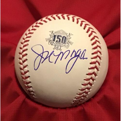 Photo of Joe Morgan Autographed 150 Baseball