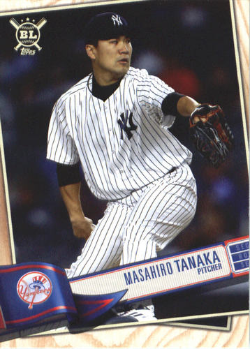 Photo of 2019 Topps Big League #157 Masahiro Tanaka