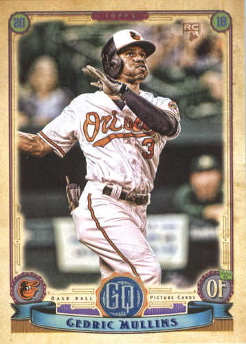 Photo of 2019 Topps Gypsy Queen #287 Cedric Mullins RC