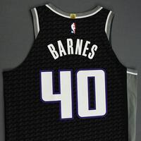Harrison Barnes - Sacramento Kings - Game-Worn Statement Edition Jersey - NBA India Games - 2019-20 NBA Season