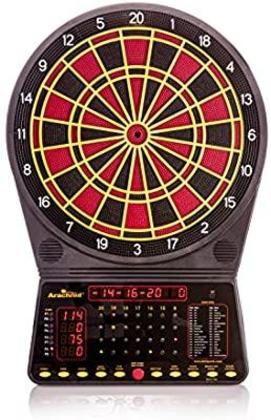 Elite Home Gamerooms - Arachnid Cricket Pro 300 Soft-Tip Electronic Dartboard Game