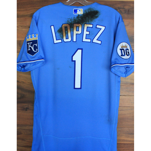 Photo of Alex's Lemonade Stand Foundation: Game-Used Nicky Lopez Jersey (Size 40 - 9/26/20 DET @ KC)