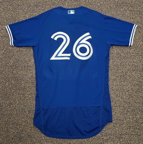 Photo of Authenticated Team Issued 2020 Spring Training Jersey: #26 Matt Buschmann. Size 42