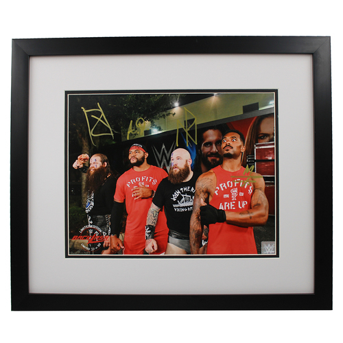 Photo of Street Profits and Viking Raiders SIGNED Backlash Exclusive 11x14 Framed Photo (Random Number)