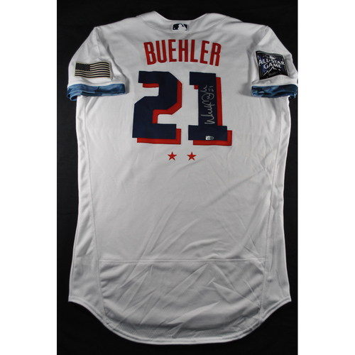 Photo of Walker Buehler 2021 Major League Baseball All-Star Game Autographed Jersey