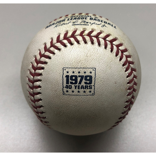 Photo of Game-Used Baseball: Corey Dickerson - Double - 7/20/2019