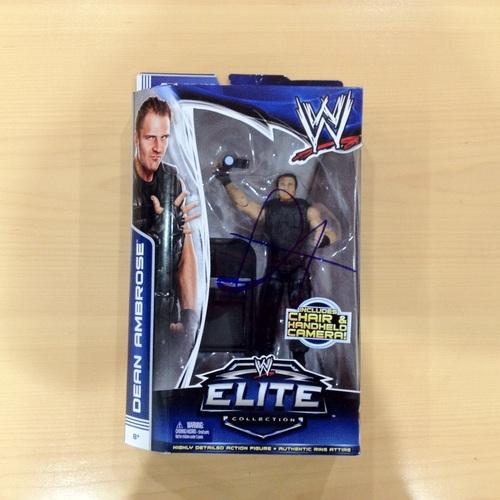 SIGNED Dean Ambrose Elite Series 25 Action Figure