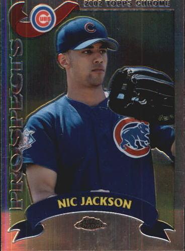 Photo of 2002 Topps Chrome #324 Nic Jackson PROS RC