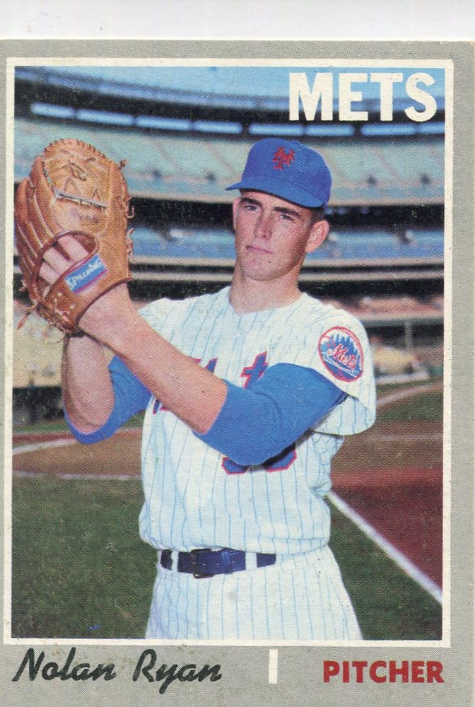 1970 Topps #712 Nolan Ryan -- Hall of Famer