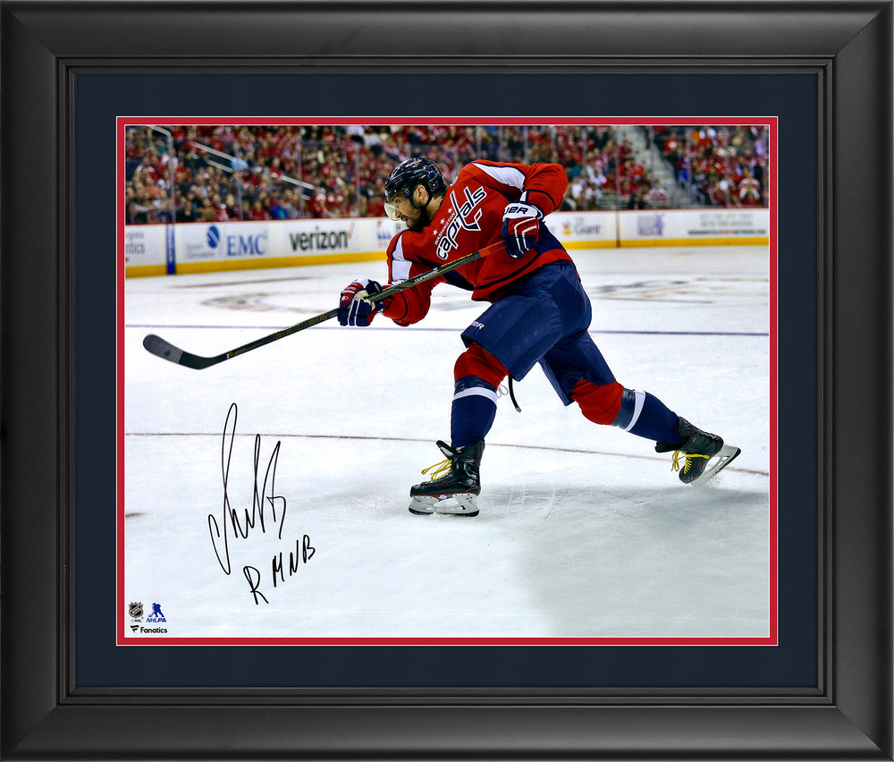Alex Ovechkin Washington Capitals Autographed 16