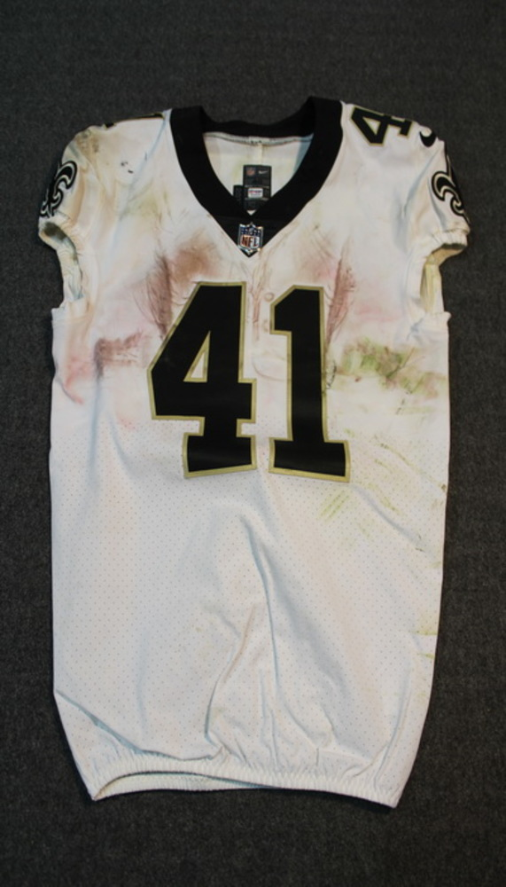 SPORT RELIEF - SAINTS ALVIN KAMARA GAME WORN SAINTS JERSEY (OCTOBER 22, 2017) SIZE 40