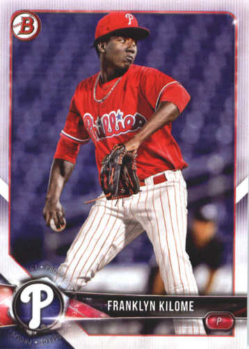 Photo of 2018 Bowman Prospects #BP84 Franklyn Kilome