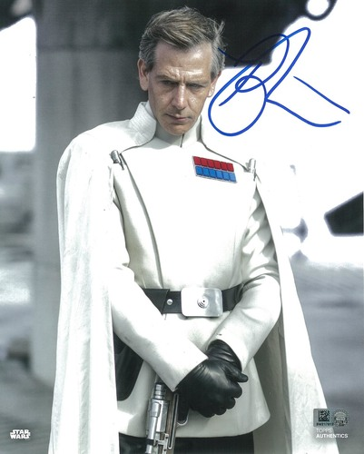 Ben Mendelsohn as Director Orson Krennic 8x10 Autographed in Blue Ink Photo
