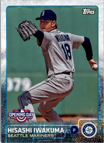 Photo of 2015 Topps Opening Day #150 Hisashi Iwakuma