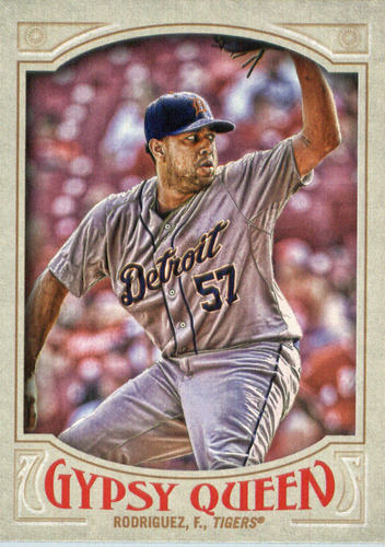 Photo of 2016 Topps Gypsy Queen #291 Francisco Rodriguez
