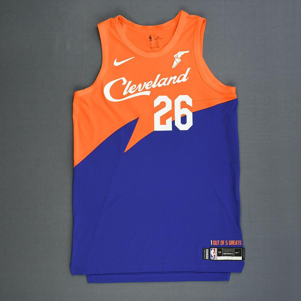 be7977fb7 Kyle Korver - Cleveland Cavaliers - Game-Issued City Edition Jersey -  2018-19