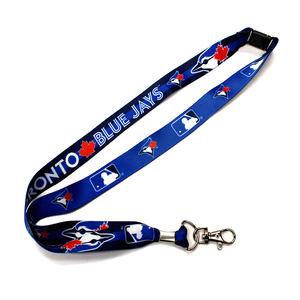 Toronto Blue Jays Lanyard and Vinyl Pouch by The Sports Vault