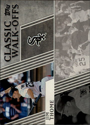 Photo of 2012 Topps Classic Walk-Offs #CW10 Jim Thome