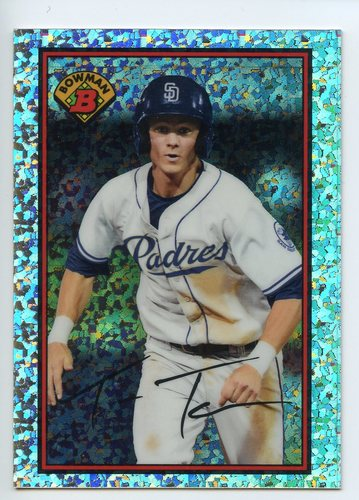 Photo of 2014 Bowman '89 Bowman is Back Silver Diamond Refractors #89BIBTK Trea Turner BD